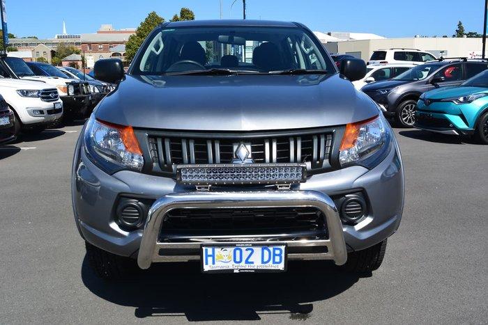 2017 Mitsubishi Triton GLX+ MQ MY17 4X4 Dual Range Grey
