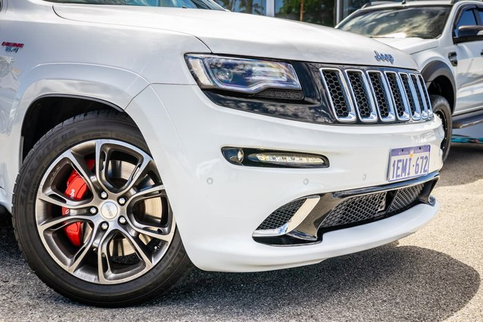 2014 Jeep Grand Cherokee SRT WK MY14 4X4 On Demand White