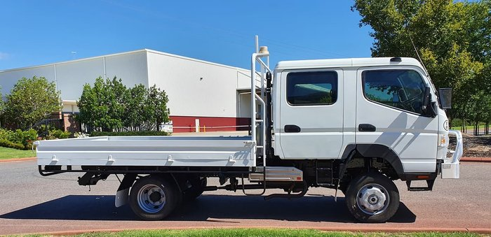 2017 FUSO FG CANTER WHITE