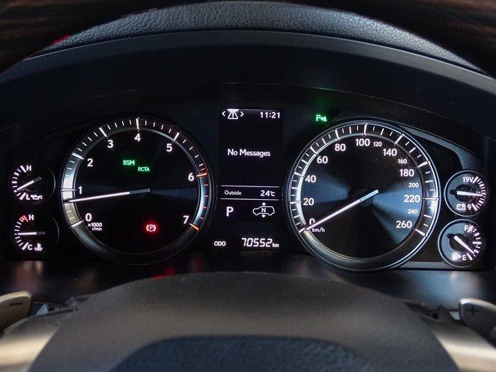 2018 Lexus LX LX570 URJ201R 4X4 Dual Range Silver