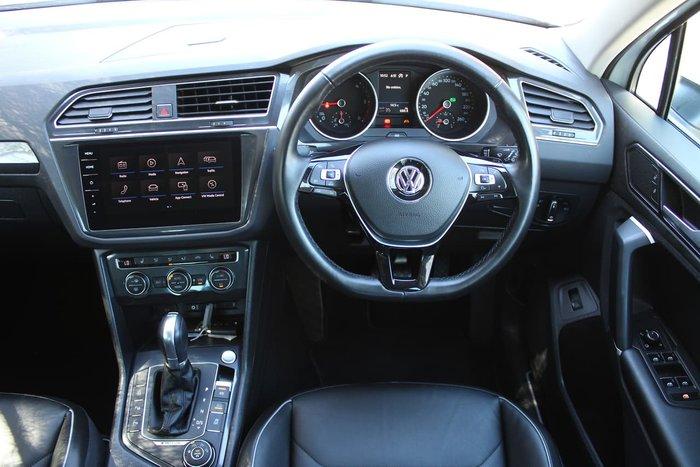 2017 Volkswagen Tiguan 140TDI Highline 5N MY18 Four Wheel Drive White