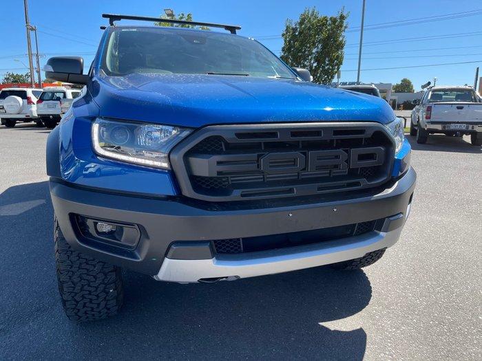 2019 Ford Ranger Raptor PX MkIII MY19 4X4 Dual Range Lightning Blue