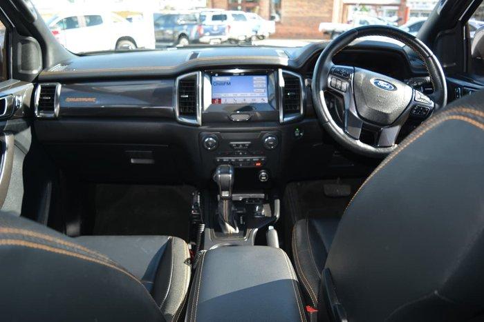 2018 Ford Ranger Wildtrak PX MkIII MY19 4X4 Dual Range White