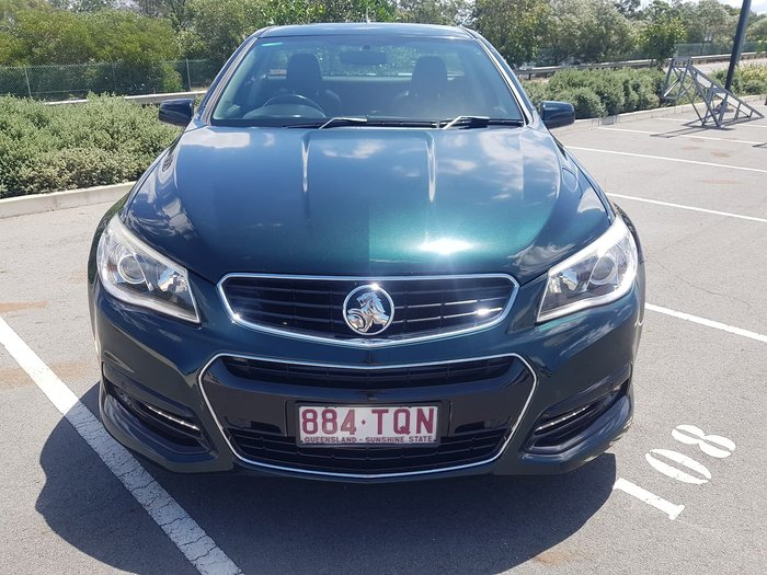 2013 Holden Ute SV6 VF MY14 Green