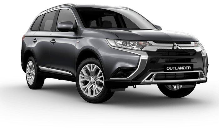 2020 Mitsubishi Outlander ES ZL MY21 Titanium