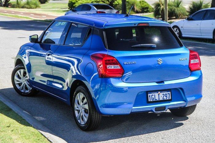 2018 Suzuki Swift GL AZ Blue