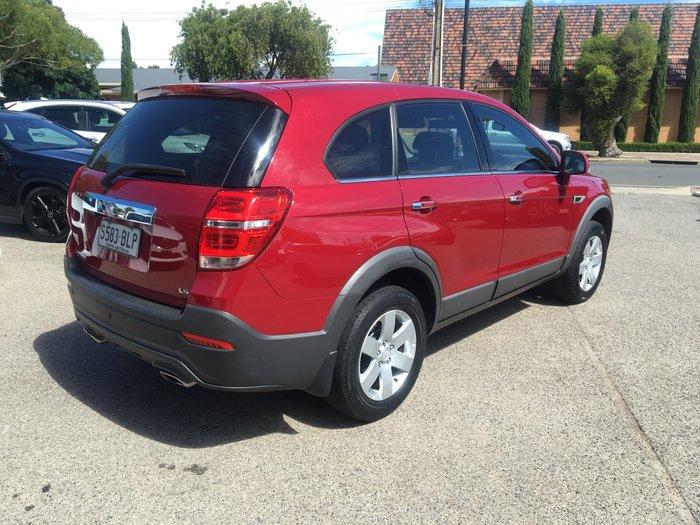 2016 Holden Captiva LS CG MY16 Velvet Red