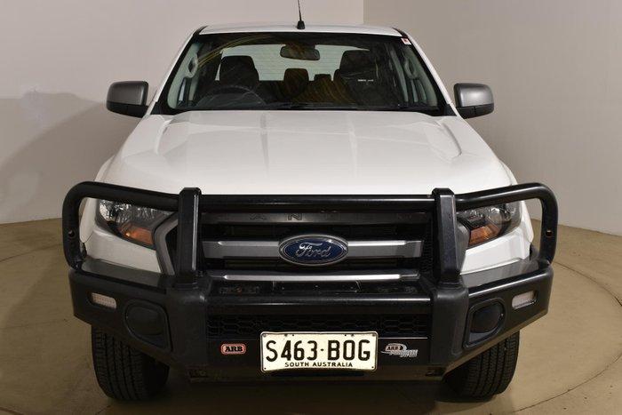 2016 Ford Ranger XLS PX MkII 4X4 Dual Range Cool White