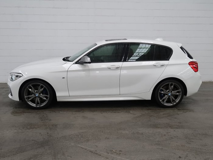 2016 BMW 1 Series M135i F20 LCI White