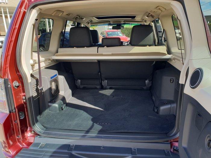 2016 Mitsubishi Pajero Exceed NX MY17 4X4 Dual Range Terra Rossa
