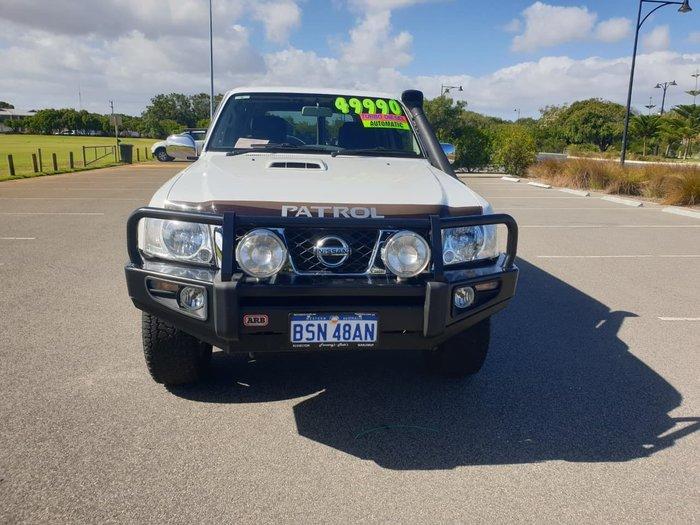 2015 Nissan Patrol ST Y61 4X4 Dual Range White