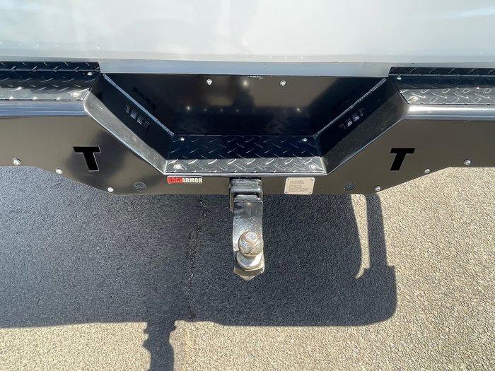 2018 Mitsubishi Triton Blackline MQ MY18 4X4 Dual Range White