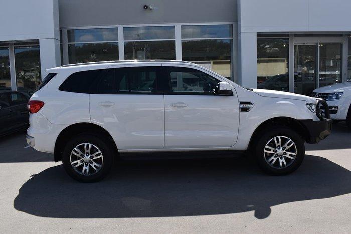 2017 Ford Everest Trend UA 4X4 Dual Range White