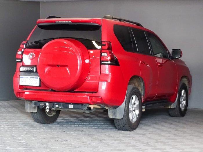 2017 Toyota Landcruiser Prado GXL GDJ150R 4X4 Dual Range Red