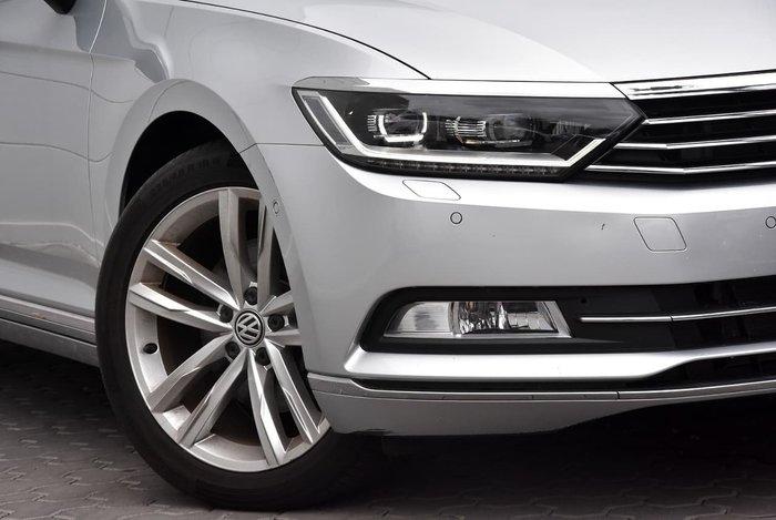 2015 Volkswagen Passat 140TDI Highline B8 MY16 Silver