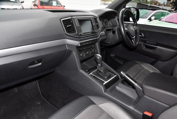 2018 Volkswagen Amarok TDI550 Dark Label 2H MY18 4X4 Constant Black