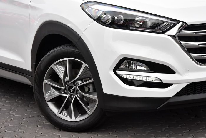 2017 Hyundai Tucson Elite TL2 MY18 4X4 On Demand White