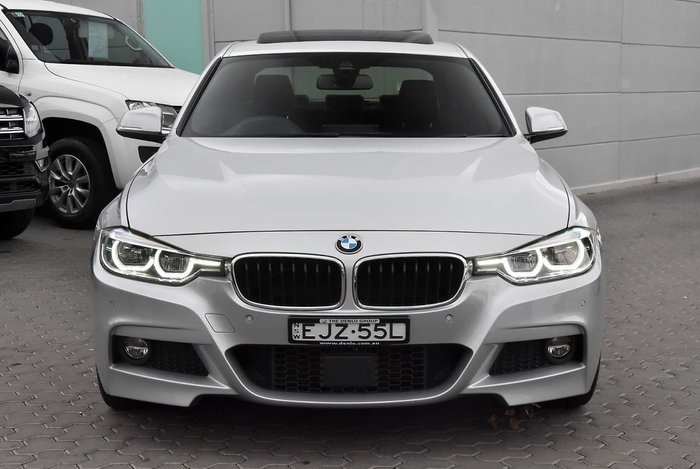 2016 BMW 3 Series 320i M Sport F30 LCI Silver