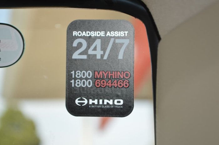 2021 HINO 500 SERIES GH 1828 White