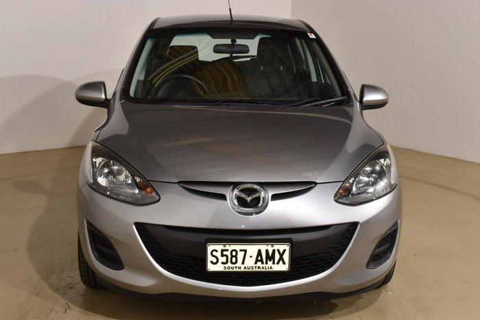 2011 Mazda 2 Neo DE Series 1 MY11 Silver
