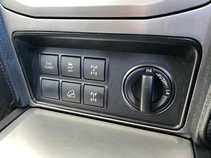 2017 Toyota Landcruiser Prado GXL GDJ150R 4X4 Dual Range White