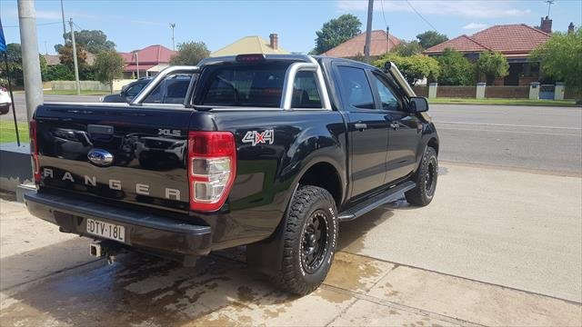 2017 FORD RANGER XLS 3.2 (4x4) PX MKII MY18 black