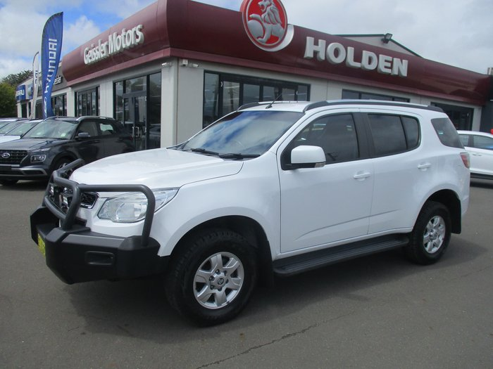 2015 Holden Colorado 7 LT RG MY16 4X4 Dual Range Summit White