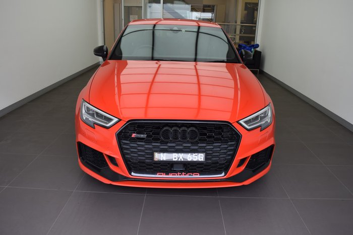 2017 Audi RS3 8V MY17 Four Wheel Drive Catalunya red