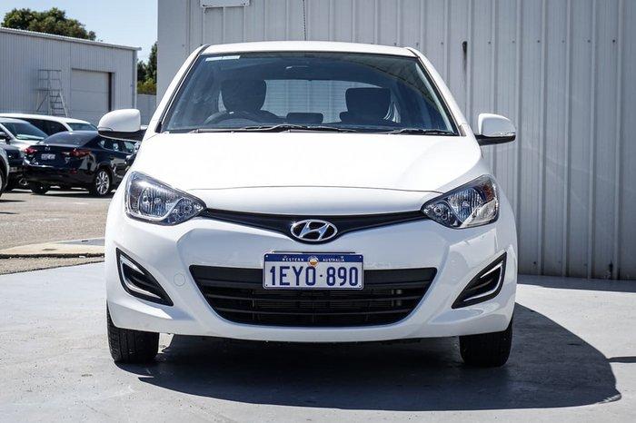 2015 Hyundai i20 Active PB MY15 White