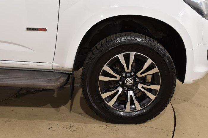 2017 Holden Colorado LTZ RG MY18 Summit White