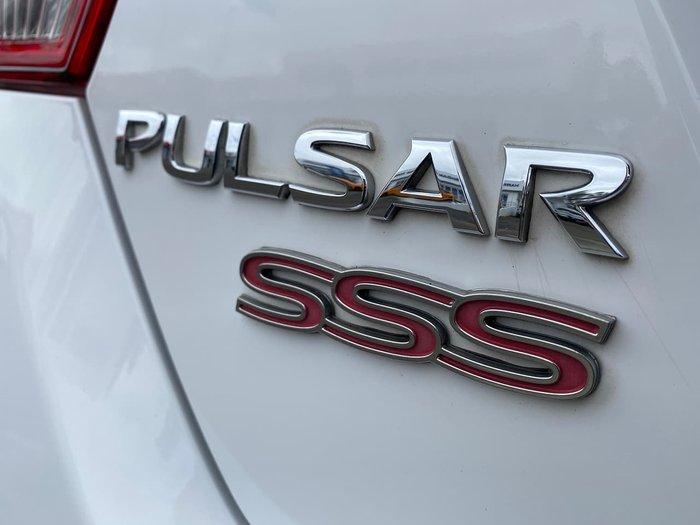 2015 Nissan Pulsar SSS C12 Series 2 White