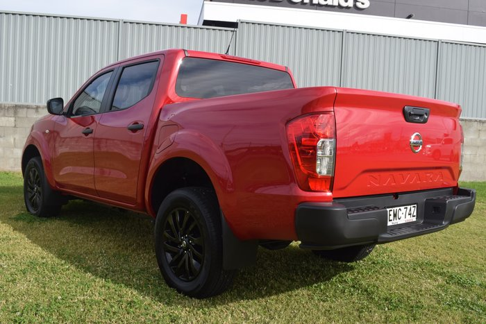 2021 Nissan Navara SL D23 4X4 Dual Range Burning Red
