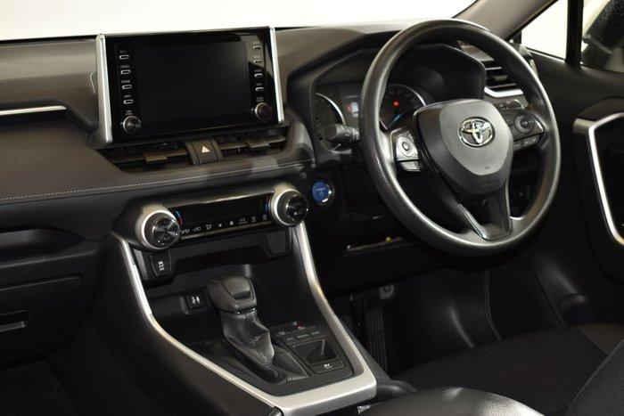 2019 Toyota RAV4 GX AXAH52R Glacier White