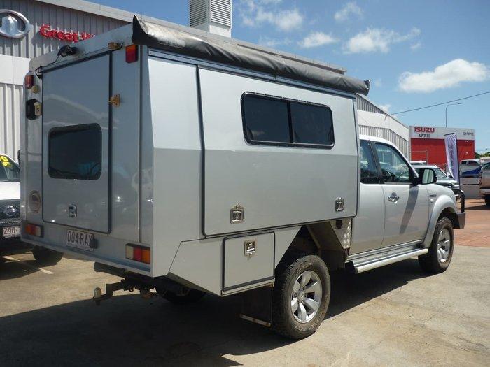 2008 Ford Ranger XL PJ 4X4 Dual Range Silver