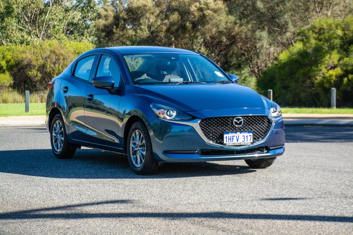 2020 Mazda 2 G15 Pure DL Series Eternal Blue