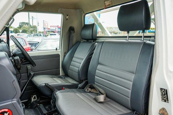 2012 Toyota Landcruiser Workmate VDJ79R MY13 4X4 Dual Range White