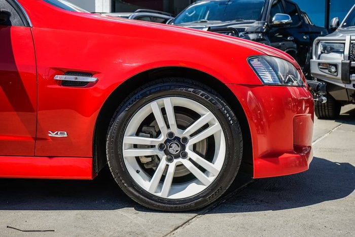 2010 Holden Commodore SS VE MY10 Red
