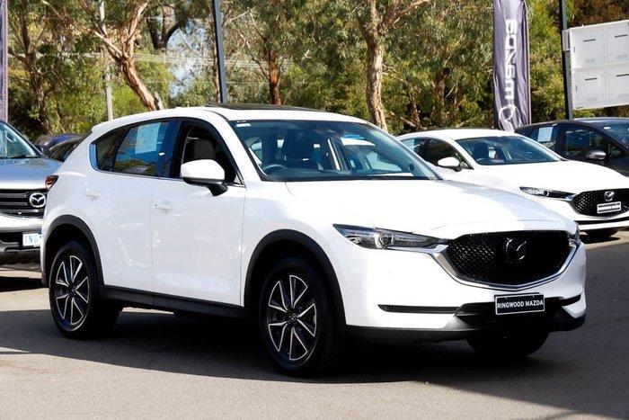 2019 Mazda CX-5 GT KF Series 4X4 On Demand Snowflake White Pearl