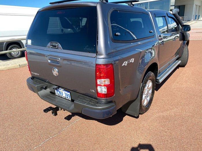 2012 Holden Colorado LX RG MY13 4X4 Dual Range Grey
