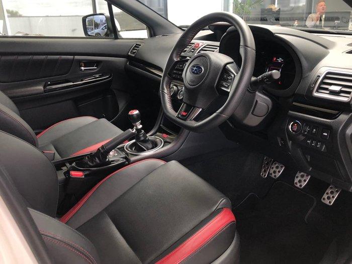 2019 Subaru WRX STI Premium V1 MY19 Four Wheel Drive Crystal White