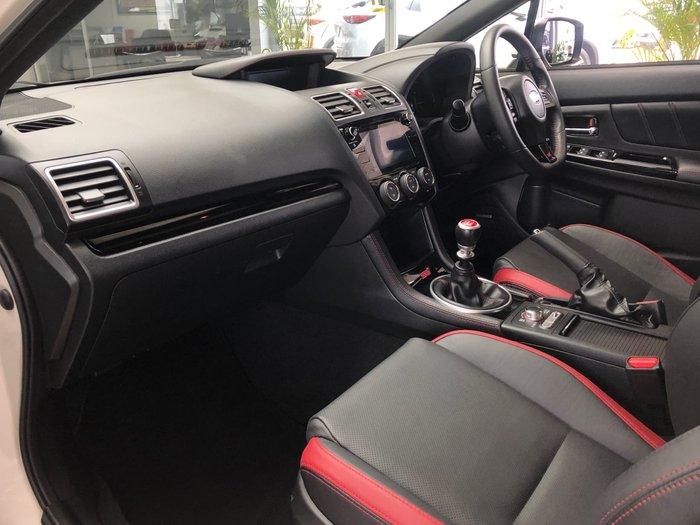 2019 Subaru WRX STI Premium V1 MY19 AWD Crystal White