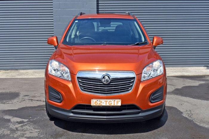 2016 Holden Trax LS TJ MY16 Orange Rock