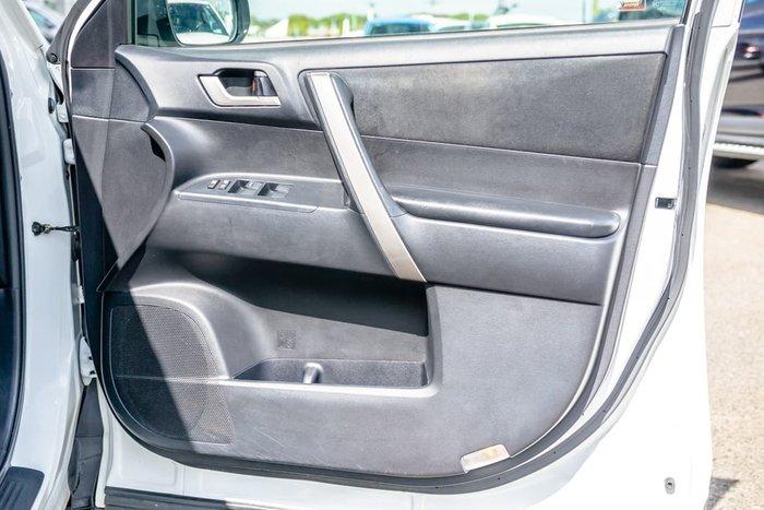 2012 Toyota Kluger KX-S GSU40R MY12 White