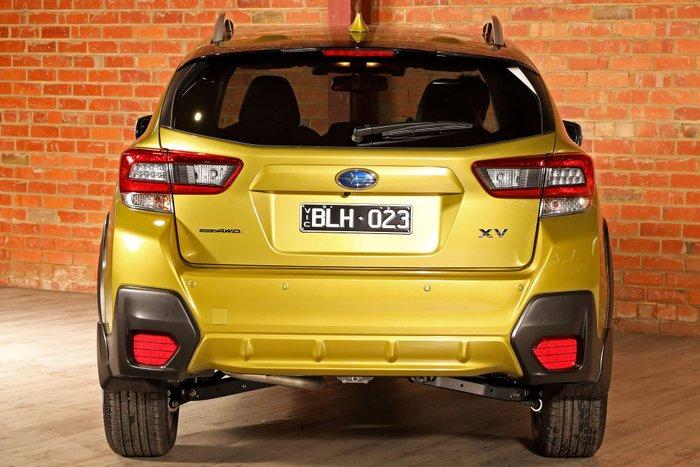 2020 Subaru XV 2.0i-S G5X MY21 Four Wheel Drive Plasma Yellow