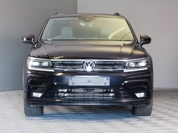 2018 Volkswagen Tiguan Wolfsburg Edition 5N MY19 Four Wheel Drive Black