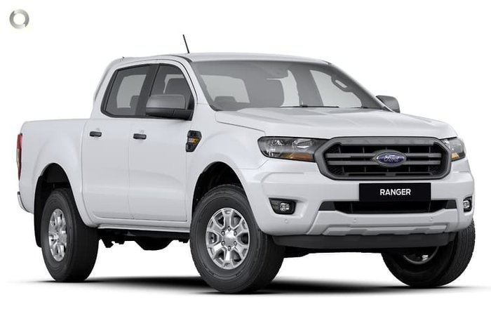 2021 Ford Ranger XLS PX MkIII MY21.25 4X4 Dual Range Arctic White