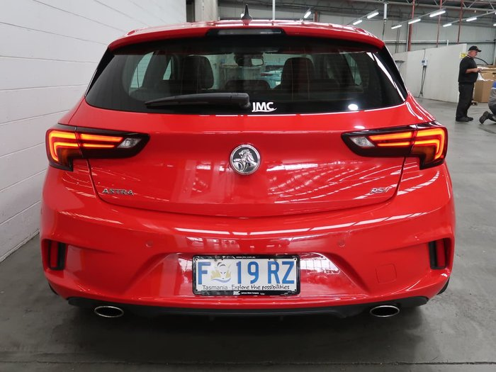 2016 Holden Astra RS-V BK MY17 Red