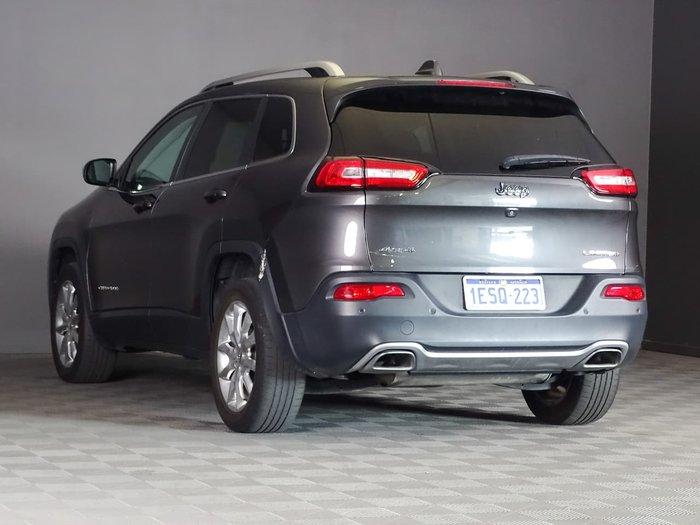 2015 Jeep Cherokee Limited KL MY15 4X4 On Demand Grey