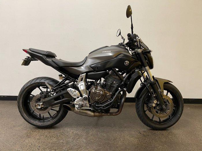 2015 Yamaha MT-07 Grey