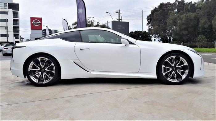 2017 Lexus LC LC500 URZ100R White Nova